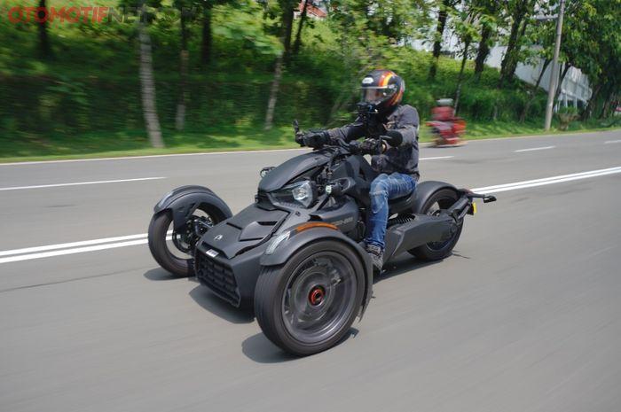 Can-Am Ryker, motor yang dipakai Baim Wong di video yang viral