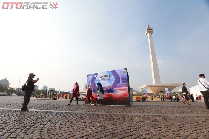 Formula E Jakarta yang sirkuitnya akan digelar di area Silang Monas.