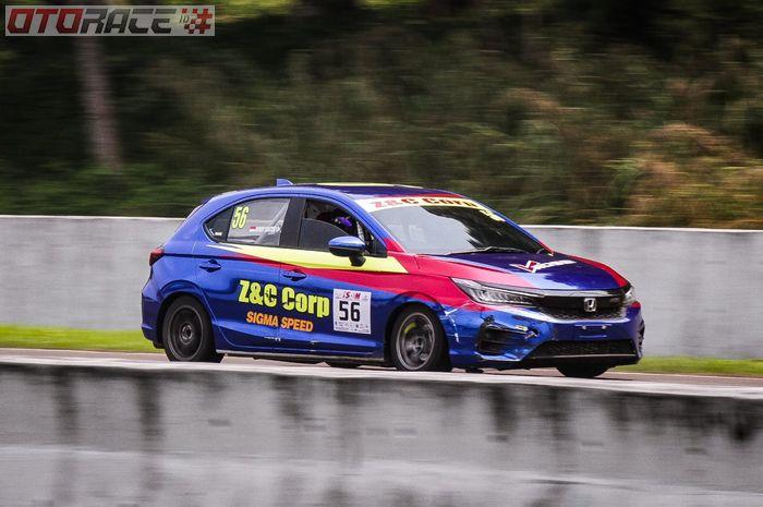 Honda City Hatchback besutan Benny Santoso yang makin kompetitif.