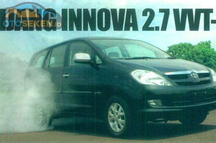 Kijang Innova 2.7, menitikberatkan keasyikan berkendara