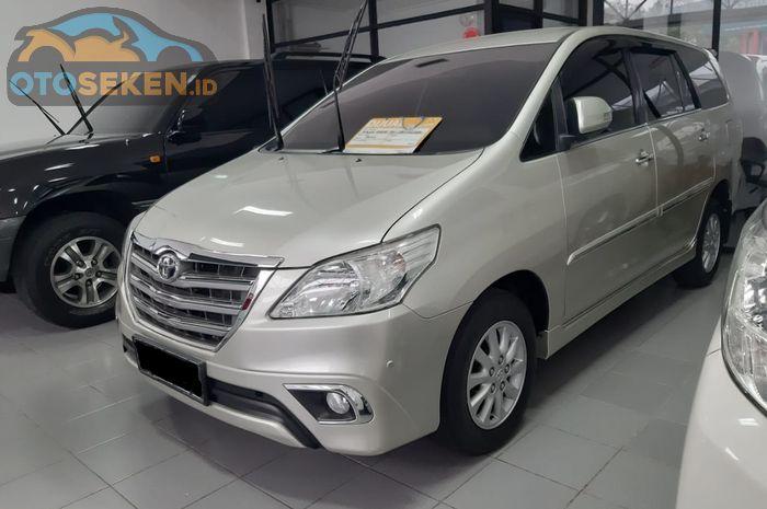 Toyota Innova 2015 Seken Kini Cuma Rp 200 Jutaan Dapat Diesel Tipe Ini Gridoto Com