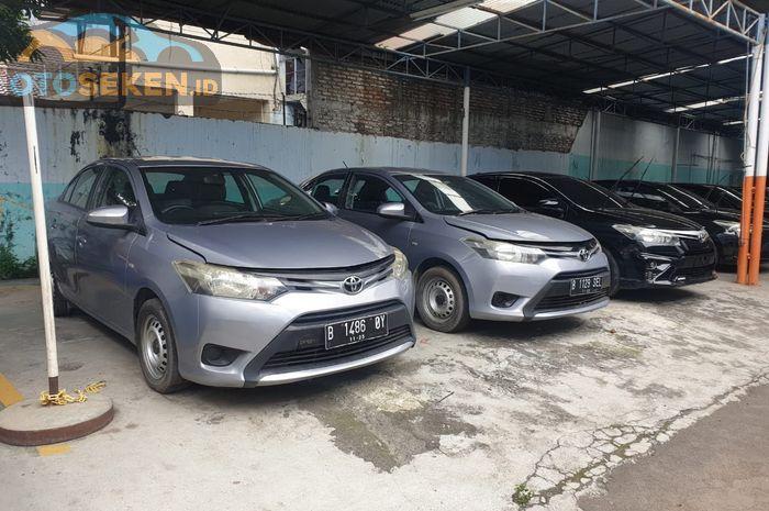 Toyota Vios Limo Gen 3 eks Taksi Blue Bird