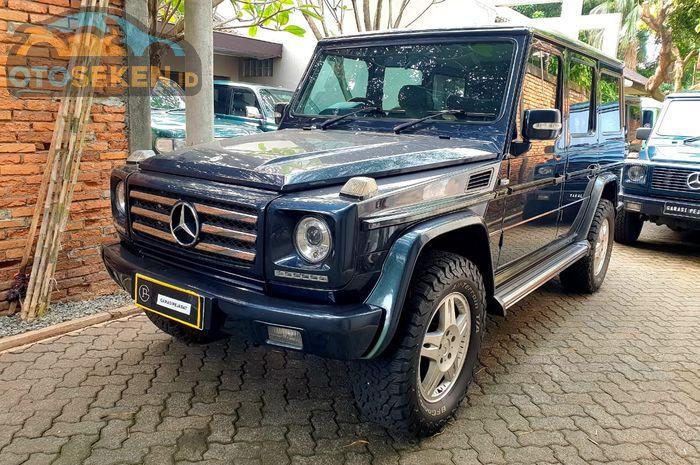 Mercedes-Benz G300 W463 1996 Convert G500 Lux, Swap Engine Hilux 3.000 cc