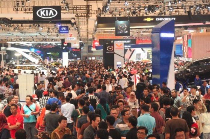 Ilustrasi Gaikindo Indonesia International Auto Show (GIIAS)
