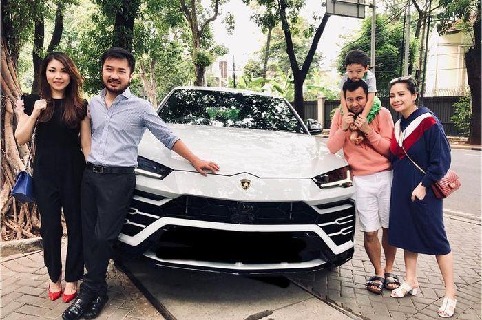 Nagita Slavina Nyetir Mobil Lamborghini Urus dengan Lamban, Raffi Ahmad Protes