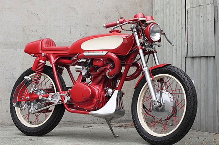 Honda CB350 garapan The Pacific Motorcycle Co. In New Zealand