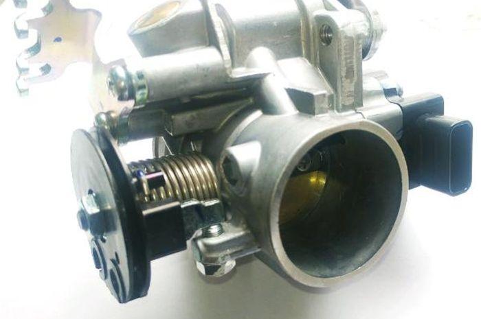 Throttle body milik Suzuki Satria FI bisa disetel manual