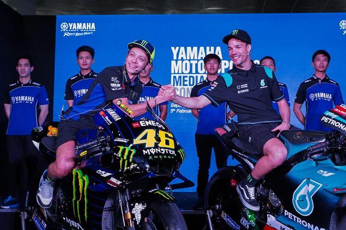 Valentino Rossi pilih salah satu muridnya untuk fight di musim MotoGP 2019