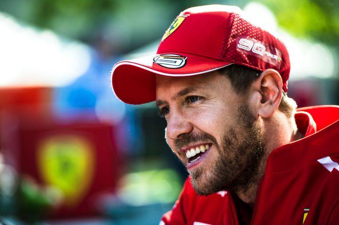 Sebastian Vettel bahagia untuk Valtteri Bottas juara F1 Australia