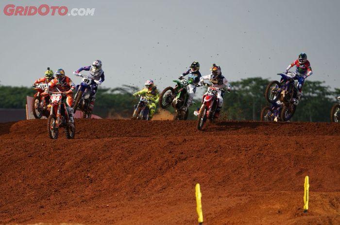 Gagal gelar balapan tahun Ini, MXGP Indonesia 2022 cari lokasi baru, rencananya digelar gak jauh dari Jakarta.