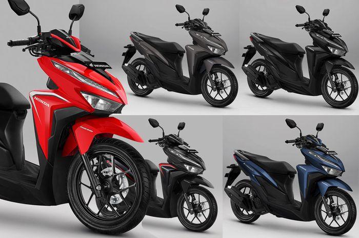 Honda Juga Segarkan Vario 125 Tipe Cbs Dan Cbs Iss Perbedaanya Makin Jelas Gridoto Com