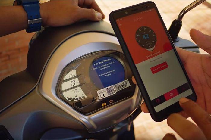 Video Kymco Like 150i Punya Gps Di Speedometer Bahkan Bisa Pajang