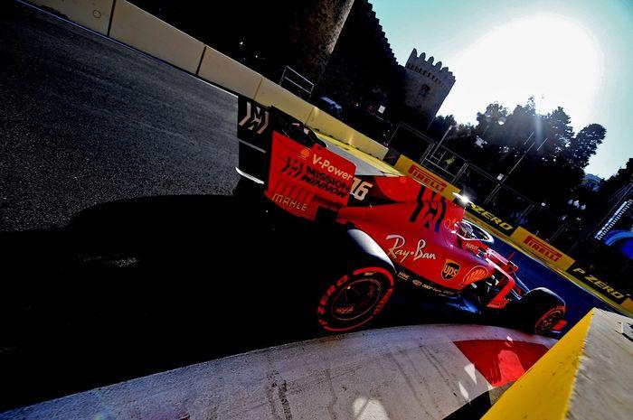 Ferrari kuasai FP2 F1 Azerbaijan 2019