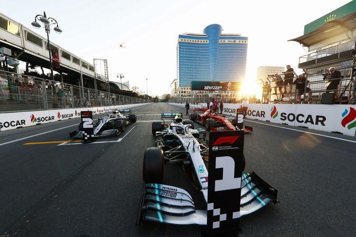 Valtteri Bottas kini pimpin klasemen sementara F1 setelah seri Azerbaijan