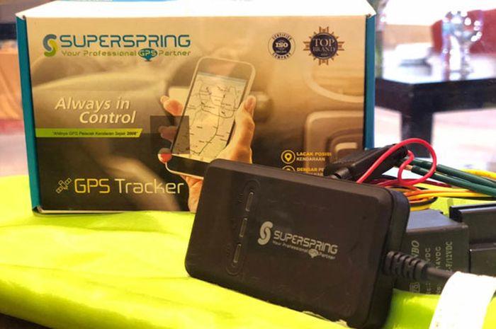 SuperSpring GPS Tracker VT20 harganya dibawah Rp 1 juta.