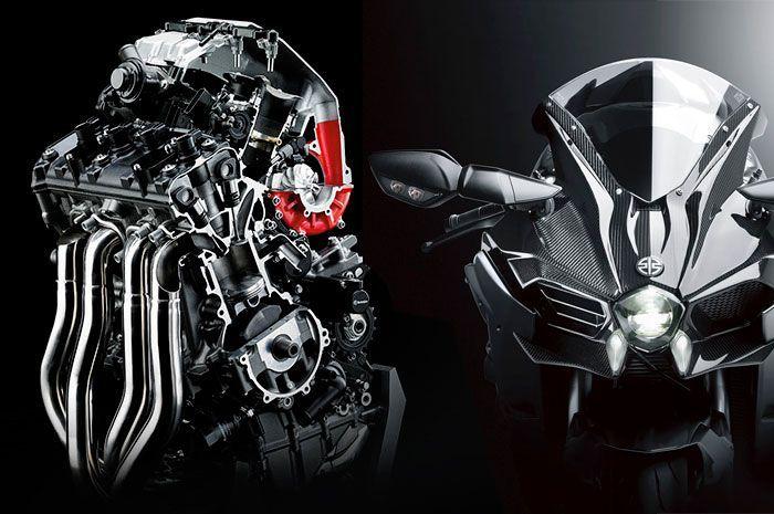 Ada Komponen di Mesin Kawasaki Ninja H2 Berputar 2 Ribu Kali Tiap Detik,  Bisa Tebak? - GridOto.com