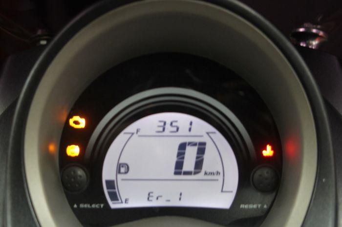 Speedometer digital NMAX mulai error