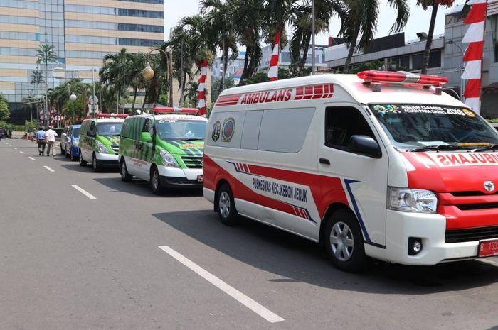 Ilustrasi ambulance, salah satu kendaraan yang harus diprioritaskan di jalan