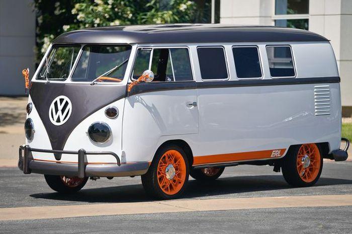 Volkswagen Type 2 >> Vw Luncurkan Konsep Volkswagen Type 20 Kombi Bertenaga