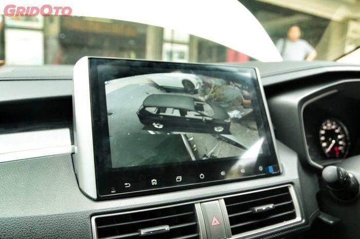 Head unit jumbo di Al New Nissan Livina nyaman untuk tampilan camera 360