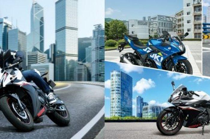 Tanggal Peluncuran Suzuki GSX Bermesin 2 Silinder, Siap