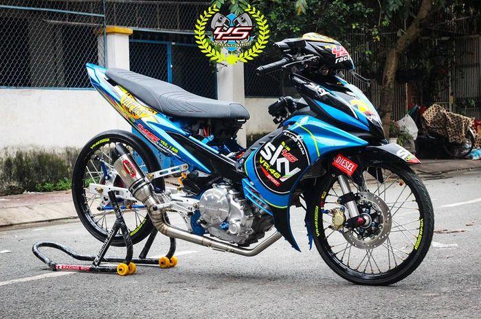 Jupiter Mx Ala Drag Bike Livery Sky Racing Team Vr46 Ikut Nempel Gridoto Com