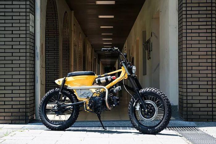Biasanya Bmx Dijadiin Motor Yang Satu Ini Malah Motor Dimiripin Bmx Gridoto Com