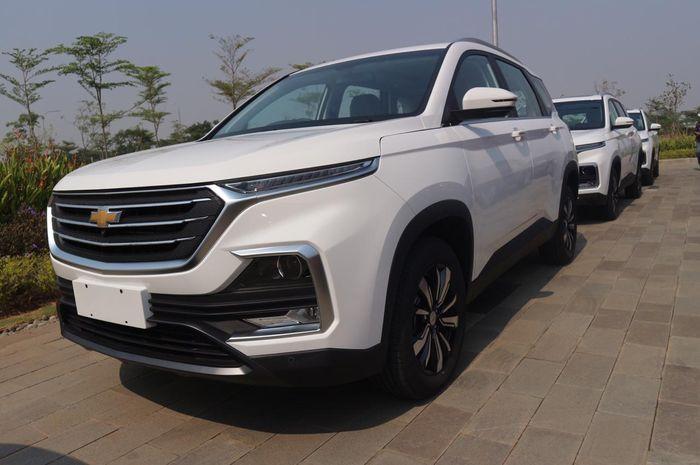 Wuling Almaz berlogo Chevrolet diekspor ke Thailand, Brunei Darussalam, dan Fiji.