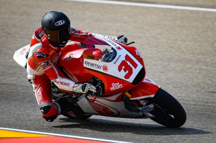 Gerry Salim di Moto2 Aragon 2019