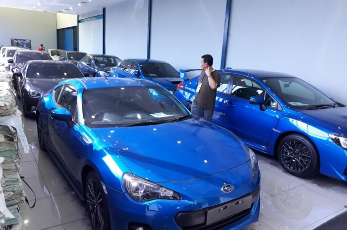 Subaru BRZ yang dilelang bea cukai tipe A Tj Priok