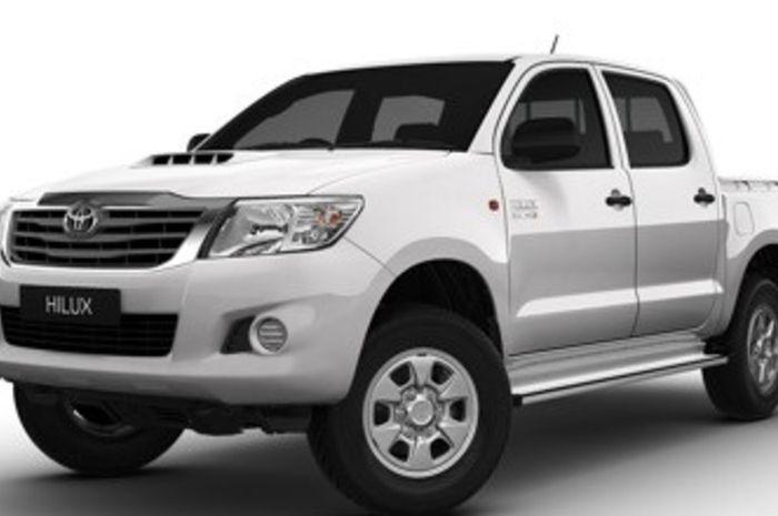 Ilustrasi Toyota Hilux