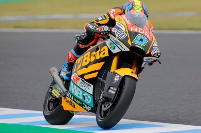 Jorge Navarro berhasil kunci pole position Moto2 Australia