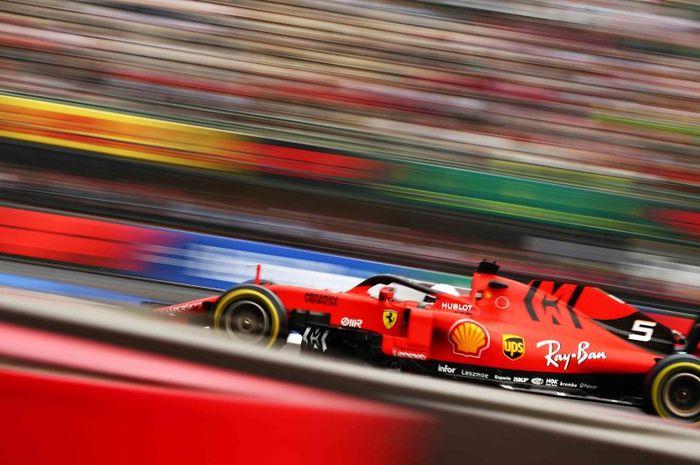 Sebastian Vettel kian unggul pada Fp2 F1 Meksiko (26/10)