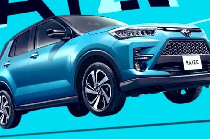 Penampakan Toyota Raize 2020