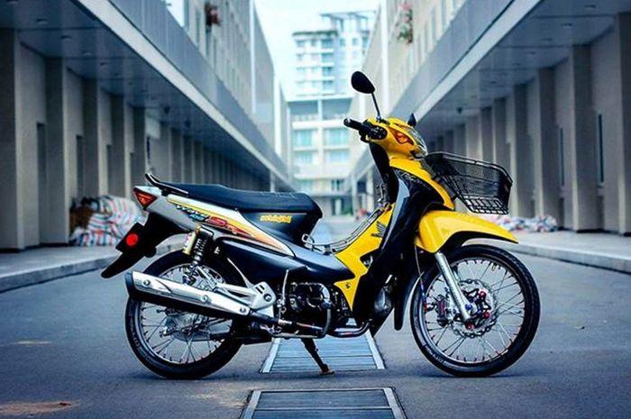 Modifikasi Honda Supra Fit