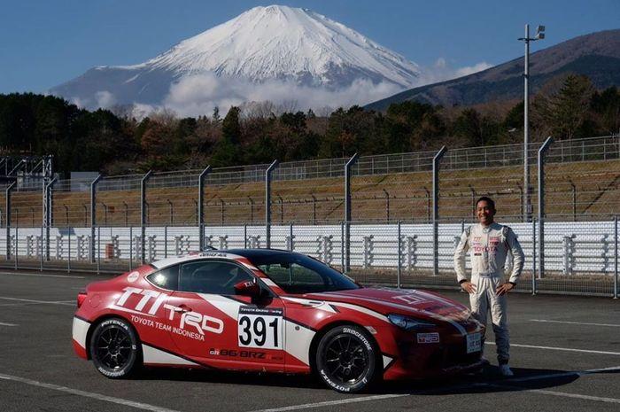 Demas Agil raih posisi lima dalam balapan Toyota Gazoo Racing