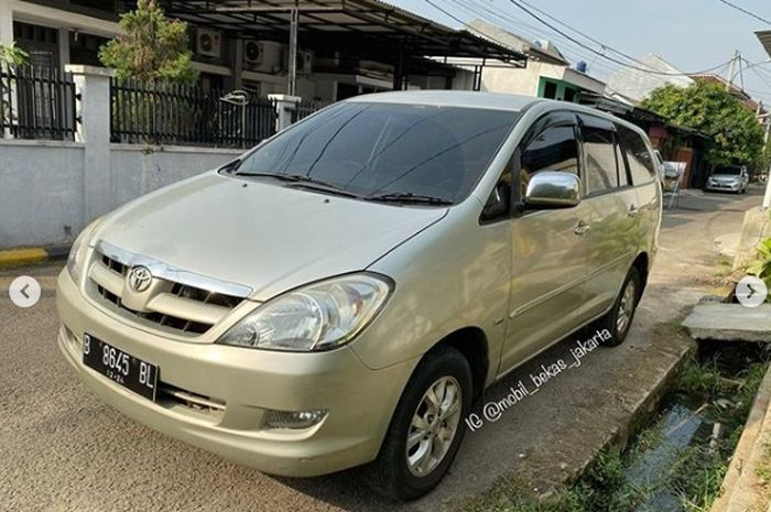 Daftar Terbaru Toyota Kijang Innova Diesel 2010 Juli 2020 V M T Facelift Dijokul Segini Gridoto Com