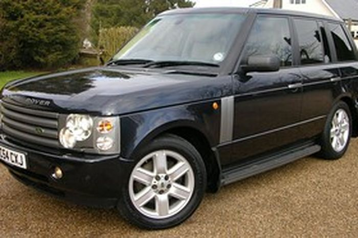 Ilutrasi Range Rover vogue