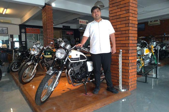 Michael Sofyan, Owner dealer Hobby Motor dan SOIB Motorcycles.