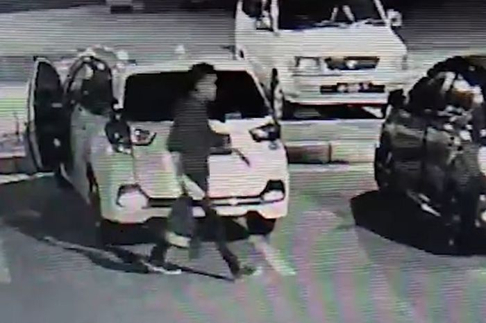 Rampok beraksi di Rest Area KM 626, Ruas Tol Ngawi-Kertosono (19/12/2019)