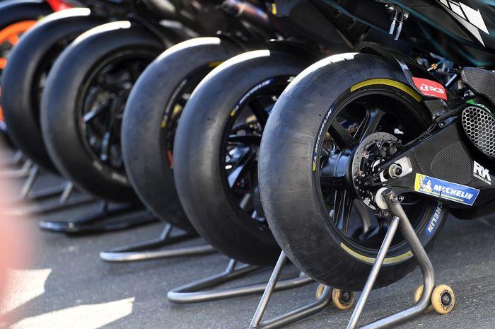 Hingga tahun 2023 Michelin jadi pemasok ban tunggal di MotoGP