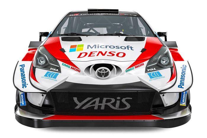Facia Toyota Yaris WRC 2020, tak banyak perbedaan dari versi 2019
