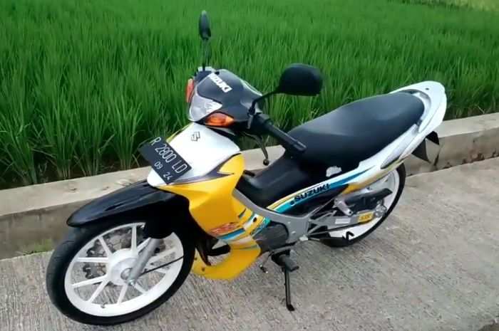 Suzuki Satria 120R Hiu kuning