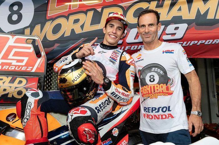 Alberto Puig sekalu bos tim Repsol Honda ingin segera memperpanjang kontrak Marc Marquez yang habis di akhir musim 2020
