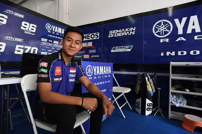 M. Faerozi dari Yamaha Racing Indonesia