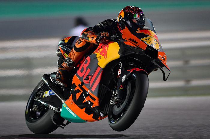 Pol Espargaro senang, KTM RC16  lebih cepat hampir 1 detik di Tes MotoGP Qatar 2020 jika dibandingkan tahun lalu