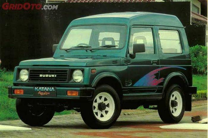 Ilustrasi Suzuki Katana