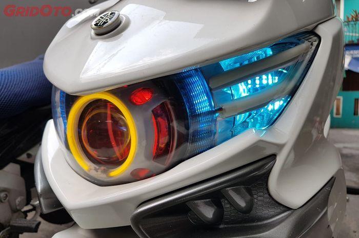 Modifikasi lampu motor perlu ubah kelistrikan jadi sistem DC