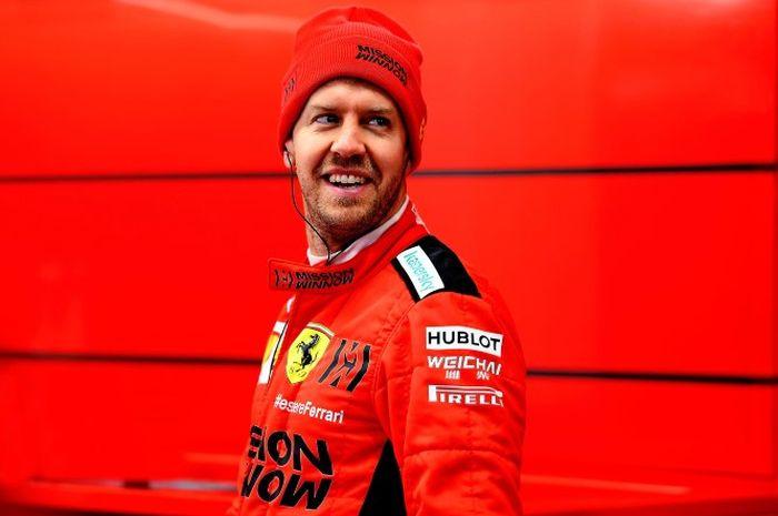 Usai tinggalkan Ferrari, Sebastian Vettel resmi bergabung dengan tim Aston Martin F1 di 2021