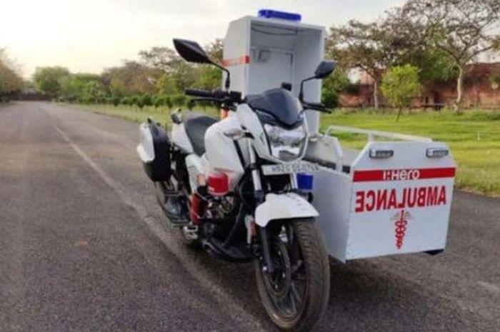 Motor Sport Ini Dimodif Jadi Ambulans